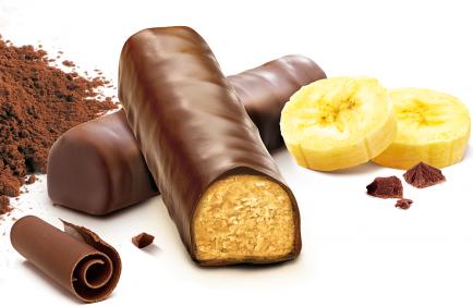 Gerlinéa cu banane și ciocolată