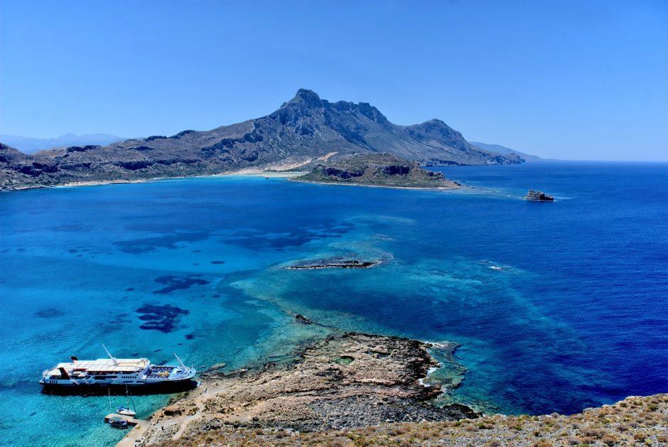 Laguna Balos, insula Creta Grecia
