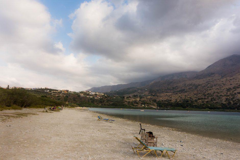 Lacul Kournas, insula Creta, Grecia