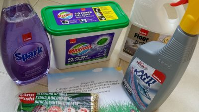 4 noutăți Sano pentru curățenia de Paște