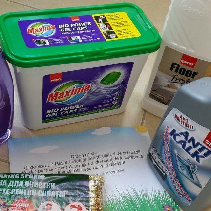 sano noutăți pentru curățenie
