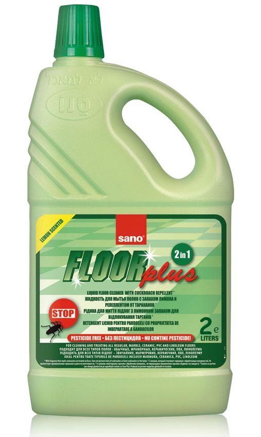 Sano Floor Plus curăță pardoseala și îndepărtează gândacii
