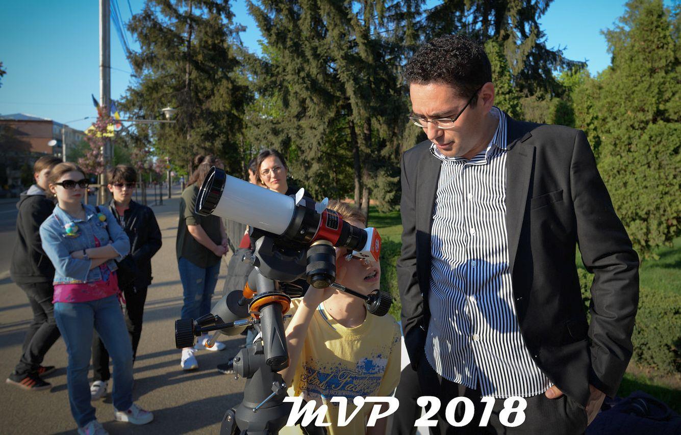 Ciprian Vântdevară, Ziua internationala a astronomiei 21 aprilie 2018