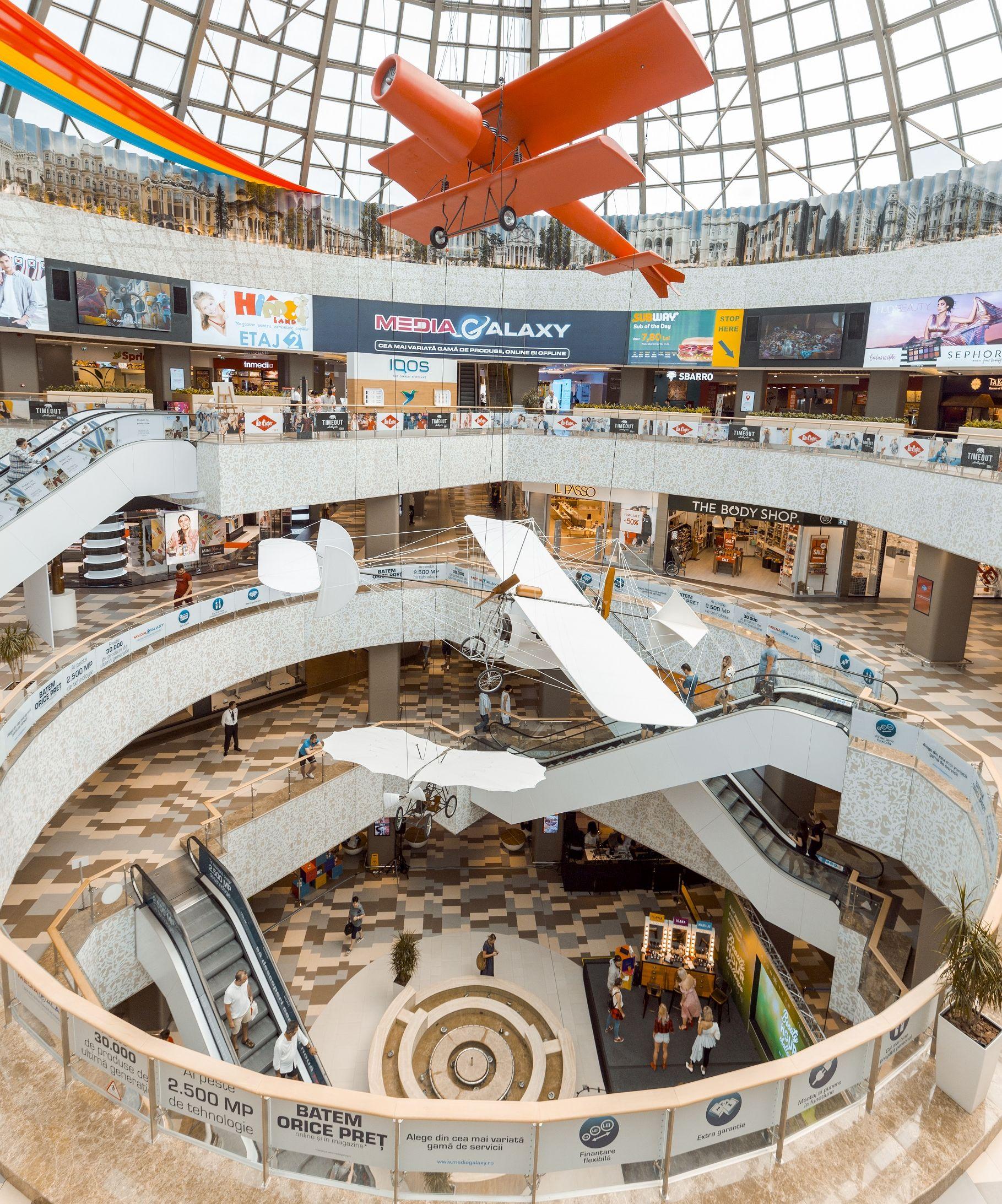 Mari români inventatori și invențiile lor la București Mall