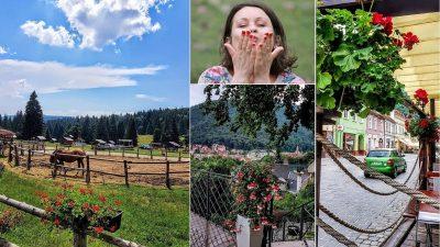 """Claudia Bodoașcă: """"Am mers 46 km pe jos într-o zi, 60 mii de pași"""""""