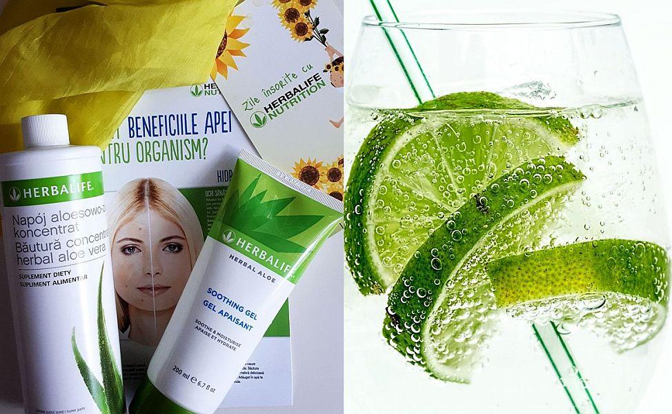 hidratare herbalife cu aloe vera