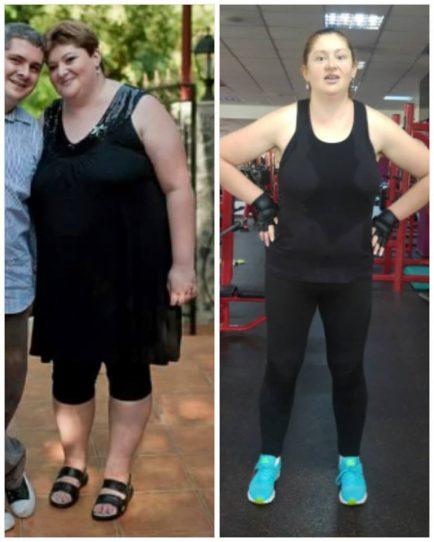 a slăbit 50 kg în 4 ani, Roxana Mărgineanu