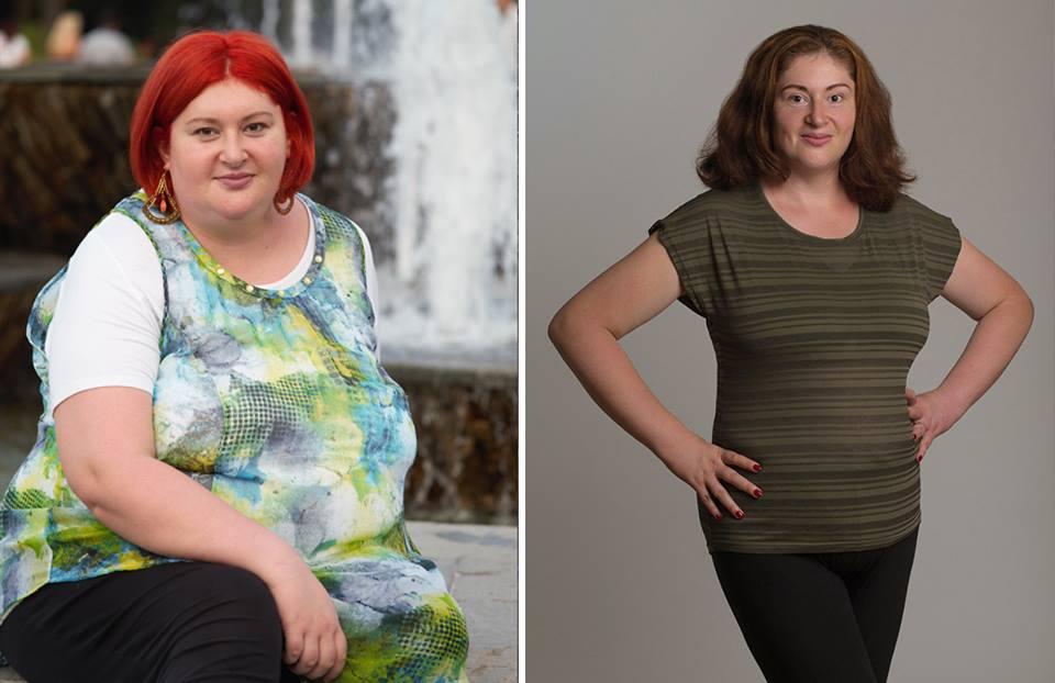 slăbit 50 kg în 4 ani, Roxana Mărgineanu