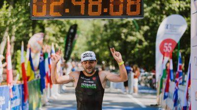 Ciprian Bălănescu câștigă a patra oară consecutiv campionatul național de triatlon