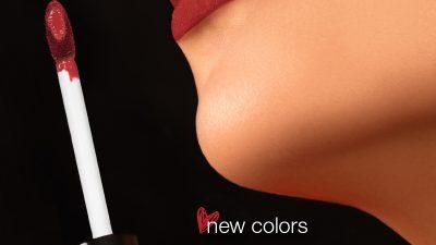 Ruj lichid mat în culorile toamnei