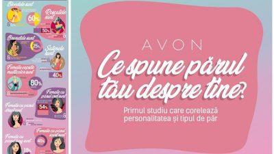 Tipul de păr și personalitatea, conform unui studiu Avon