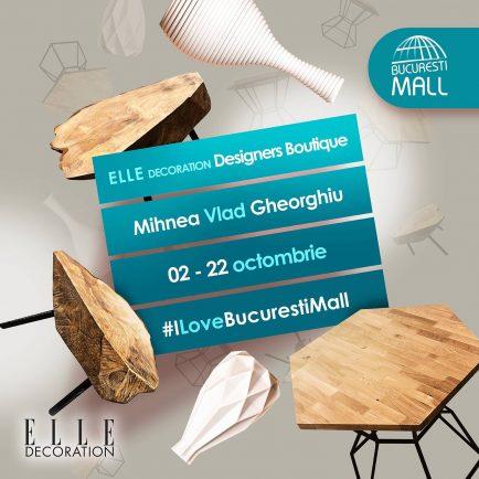 designerii români au rezervat un spațiu gratuit la București Mall