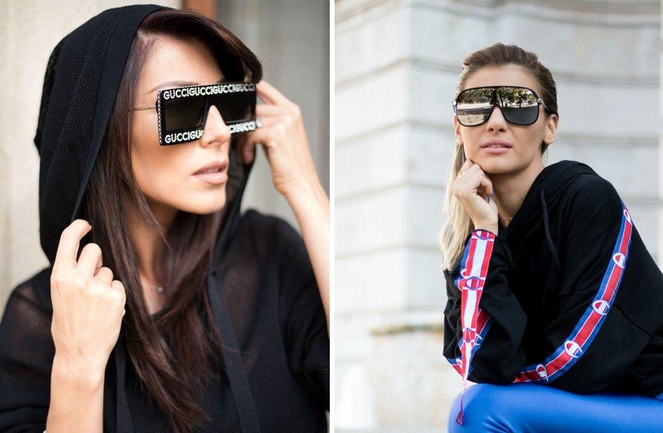 ochelari gucci și alte case celebre colecții noi