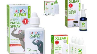 XLEAR soluție salină pentru sinusuri