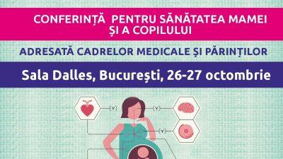 Samas vă invită la conferința despre sănătatea mamei și a copilului