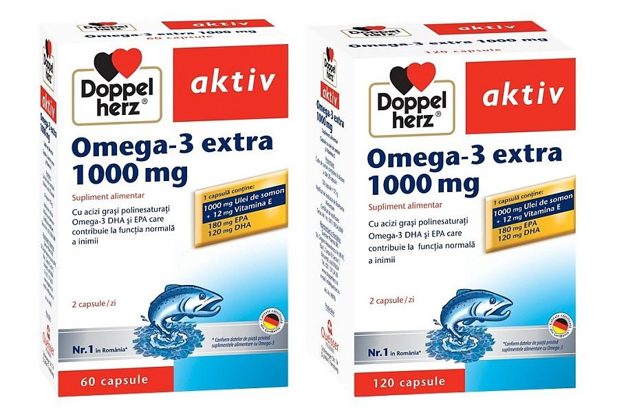 Omega-3 Doppelherz pilula pentru inima si viata lunga