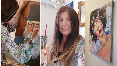 """Valentina Băicuianu, după 20 de ani în multinaționale: """"Pictura e destinul meu"""""""