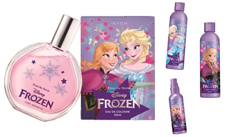 Avon Frozen, inspirată de personajele Disney