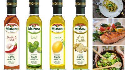 Nou de la Monini! Ulei extravirgin cu arome și condimente