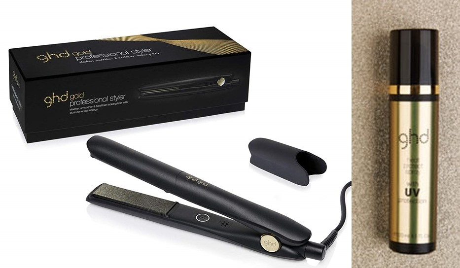 styler ghd gold si protectie termica si uv