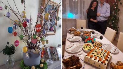 Sărbători de Paște în 30 de ani departe de țară