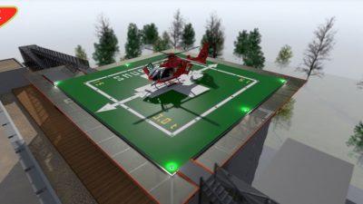 """Toamna asta începe construcția unui heliport pe Spitalul pentru copii """"MS Curie"""""""