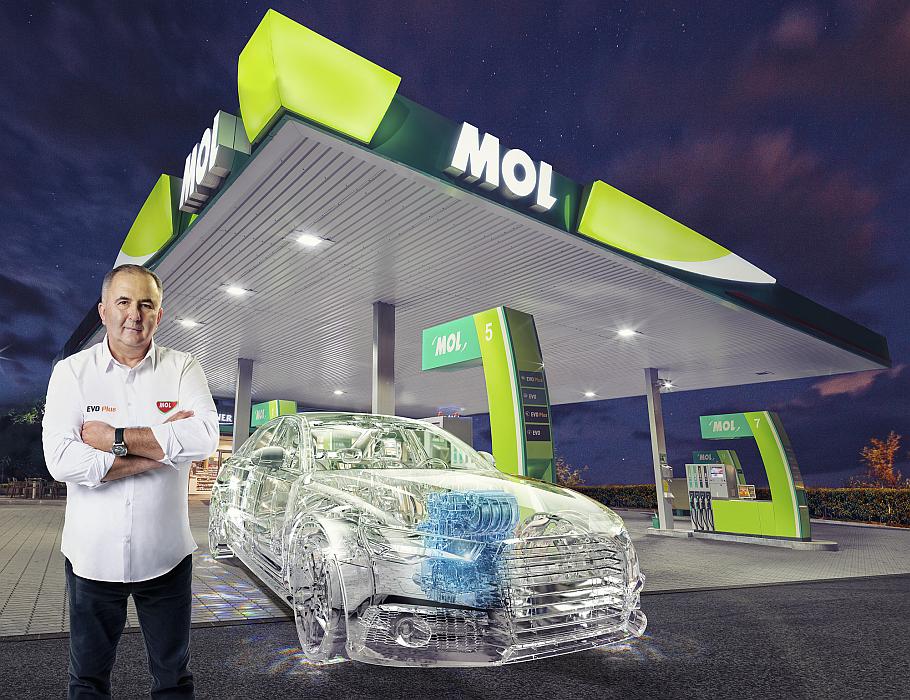 Titi Aur carburanți EVO de la MOL