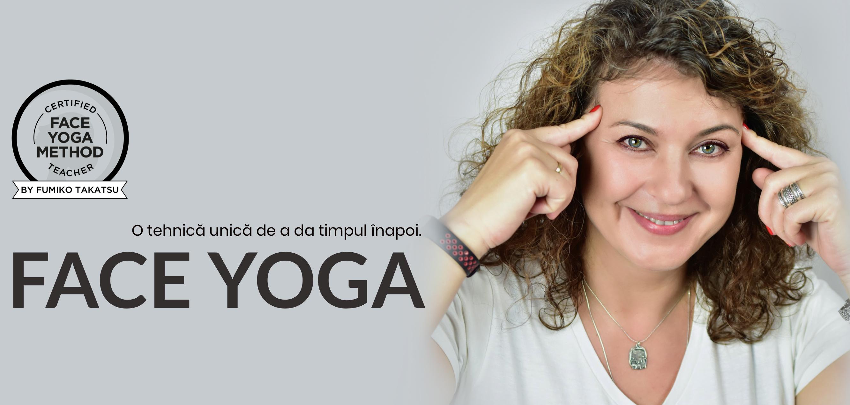 Ana-Maria Cimpoescu profesor de Face Yoga