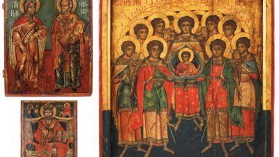 Licitație de icoane din perioada Brâncoveanu și imediat următoare