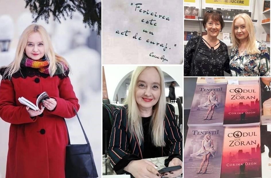 Corina Ozon, 9 cărți în 5 ani