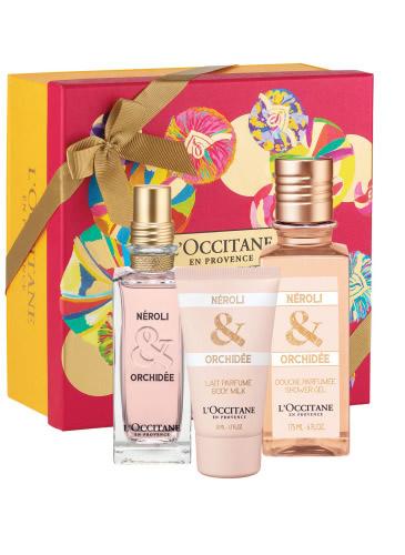 Neroli & Orchidee Gift Collection, 329 lei (apă de toaletă, lapte corp, gel de duș);