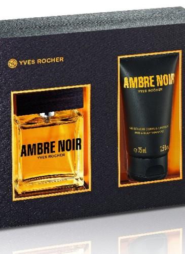 Yves Rocher Ambre Noir, 119 lei (Apă de toaletă și Gel de duș)