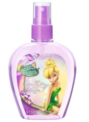 Apă de toaletă Disney Fairies, Oriflame, 19.99 lei. Cu aromă delicată de piersică, prună şi mandarină. Produs testat dermatologic.