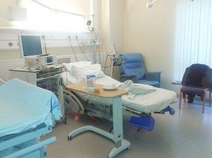 NHS - o surpriză încântătoare (imagine din sala de nastere a unui spital de stat din UK)