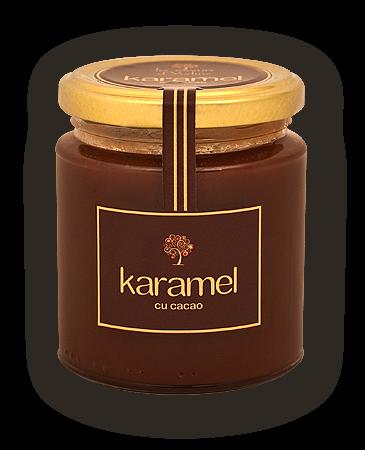 Karamel cu cacao 35 lei