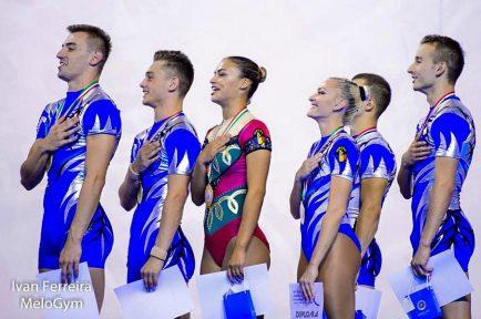 România-campioana europeana gimnastica aerobica 2017