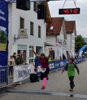 Maratonul Romantic la finish - Maria Samoilă