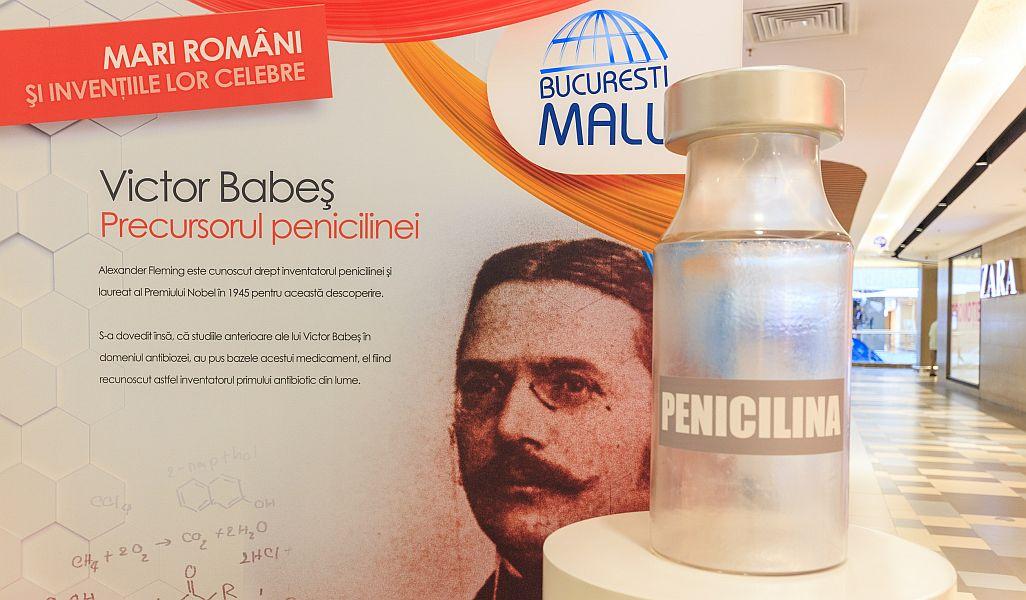 mari români inventatori expoziție București Mall