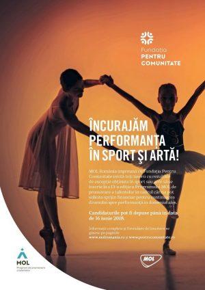 mol românia acordă finanțare pentru sportivi și artiști