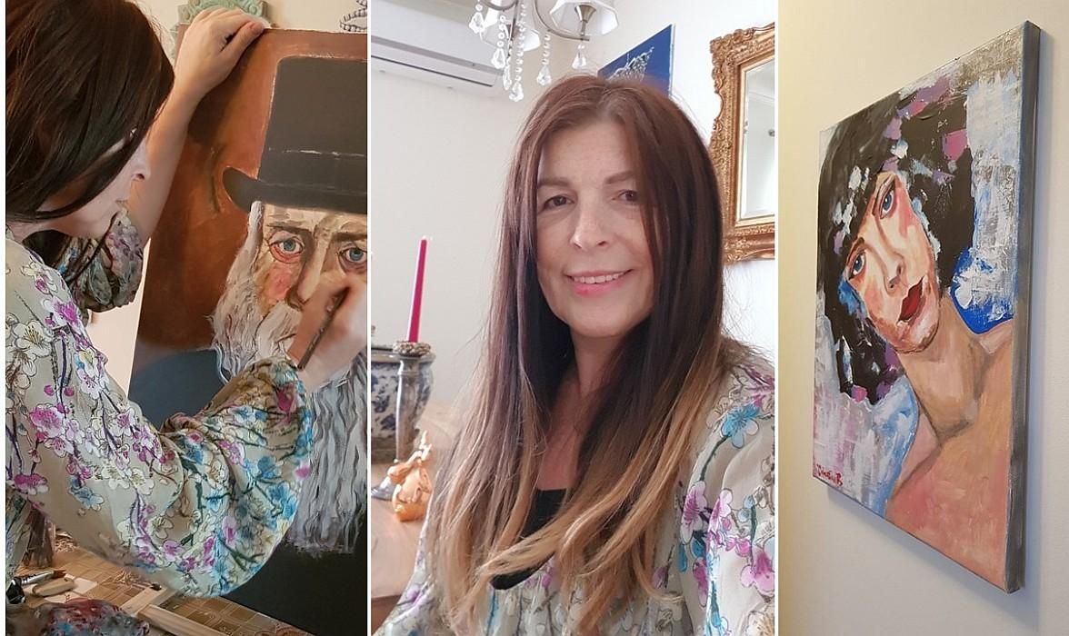 Valentina Băicuianu, în Atelier