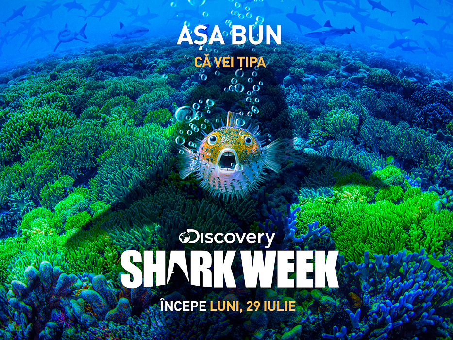 Shark Week documentare despre rechini la Discovery Channel