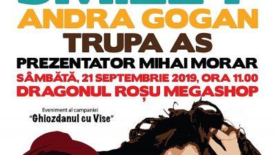 Smiley și Andra Gogan în concert la Dragonul Roșu