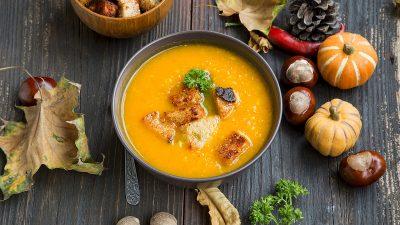 Supa cremă de dovleac (sănătoasă, gustoasă, ușor de făcut)