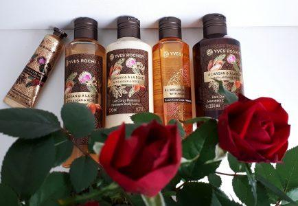 Yves Rocher gama A L`Argan & A La Rose