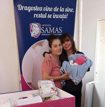 Heidi Murkoff în România, în vizită la Maternitatea Buftea