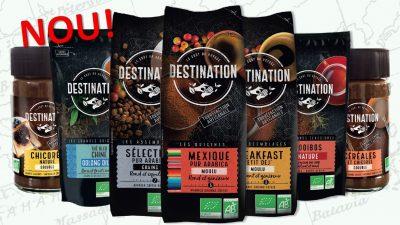 DESTINATION, cafeaua BIO care te duce unde vrei