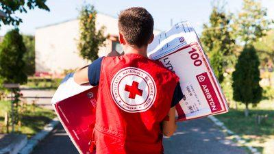 Ariston a donat peste 1000 de echipamente de încălzire a apei pentru copii și vârstnici