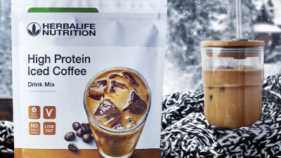 """Cafea cu gheață de la Herbalife, o alternativă bună la """"ceva dulce"""""""