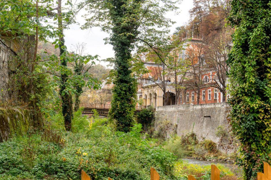 herculane romania cerna river