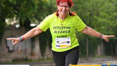 Contabilă de 57 de ani aleargă (și câștigă!) la maraton